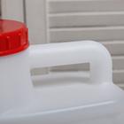 Канистра пищевая «Бочонок», 10 л, белая - Фото 6