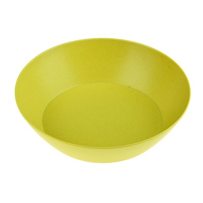 """Тарелка суповая 200 мм """"Бамбуковый лес"""", салатовая"""