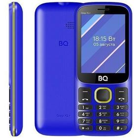 "Сотовый телефон BQ M-2820 Step XL+, 2.8"", 32Мб, microSD, 2sim, 1000мАч, синий, жёлтый"