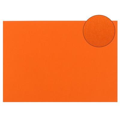 Картон цветной, 210 х 297 мм, Sadipal Sirio, 1 лист, 170 г/м2, ярко-оранжевый