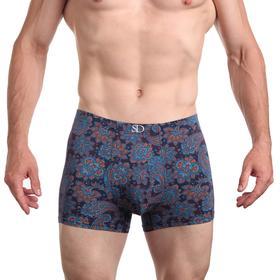 Трусы мужские боксеры, цвет бирюзовый, размер 48-50 (L)