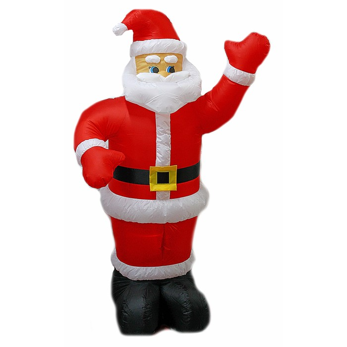 Надувная фигура Дед Мороз приветствует, 180 см