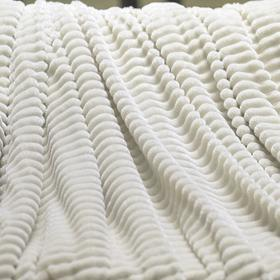 Плед «Жаккард», размер 150х200 см, цвет белый