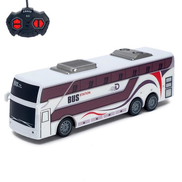 Автобус радиоуправляемый «Междугородний», работает от аккумулятора