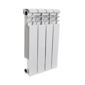 Радиатор алюминиевый ROMMER Profi BM 350, 350 x 80 мм, 4 секции