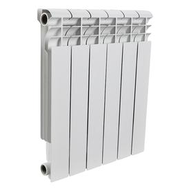 Радиатор алюминиевый ROMMER Profi BM 350, 350 x 80 мм, 6 секций