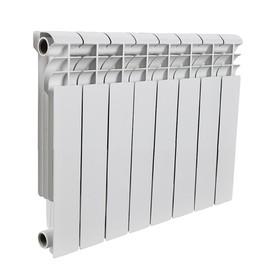 Радиатор алюминиевый ROMMER Profi BM 350, 350 x 80 мм, 8 секций