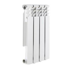 Радиатор алюминиевый ROMMER Optima 500, 500 x 78 мм, 4 секции