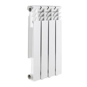 Радиатор биметаллический ROMMER Optima 500, 500 x 78 мм, 4 секции