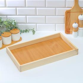 Поднос деревянный для завтрака 50×30 см Ош