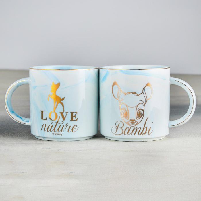 Кружка «Bambi», Disney, мрамор 350 мл