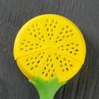Ситечко для чая Доляна «Лимон», 10 см, цвет МИКС - Фото 2