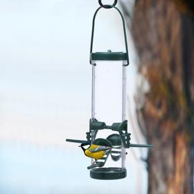 Кормушка для птиц «Бункер», 7 × 25 см, пластик