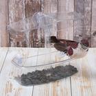 Кормушка для птиц, 20 × 16,5 × 9 см, на присосках, пластик - Фото 4