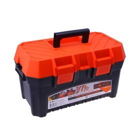 Ящик для инструментов BLOСKER BOXER Economy, цвет черно-оранжевый