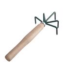 Рыхлитель, длина 25 см, 5 зубцов, деревянная ручка, Р-5 м - Фото 2
