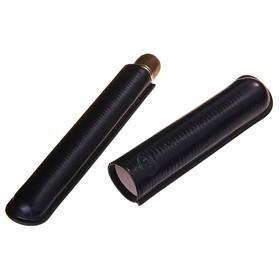 Портсигар черный для 1 сигары d 2,1 см