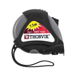 Рулетка SMT7525 Thorvik 52894, обрезиненный корпус, 7,5мх25мм