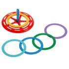 Развивающая игрушка «Кольца», 7 колец, МИКС