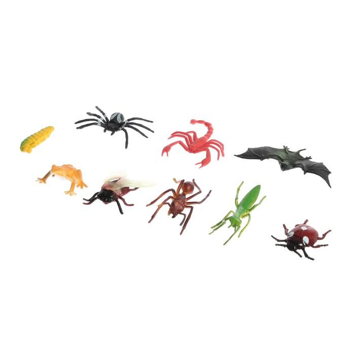 Набор животных насекомых Природа, МИКС