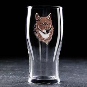 Бокал для пива Доляна «Волк», 570 мл