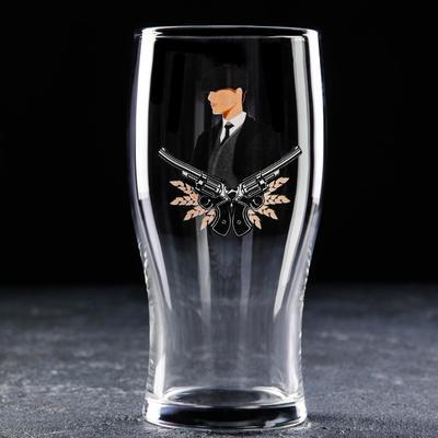 Бокал для пива Доляна «Парень», 570 мл - Фото 1
