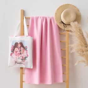 """Набор LoveLife """"Princesses"""" (вид 2): сумка-шопер 33*39 см + флисовый плед 150*130 см"""