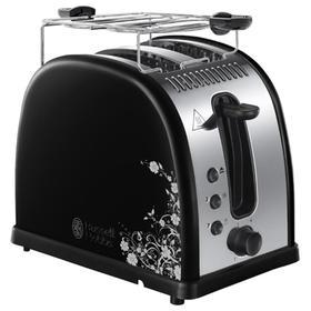 Тостер Russell Hobbs 21971-56, 1600 Вт, 6 режимов прожарки, 2 тоста, чёрный