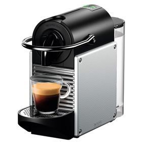 Кофемашина DeLonghi EN 124 S, капсульная, 1260 Вт, 0.7 л, серебристая Ош
