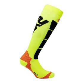 Носки SIXS SPEED2, SPE2-II-GINE, цвет Черный/Желтый, размер 40 - 43