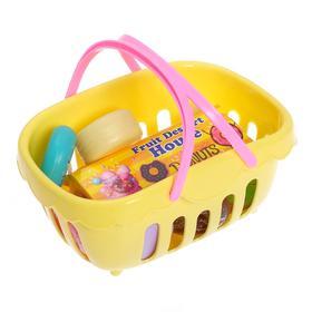 Продуктовая корзинка «Минимагазин» с продуктами , цвета МИКС Ош