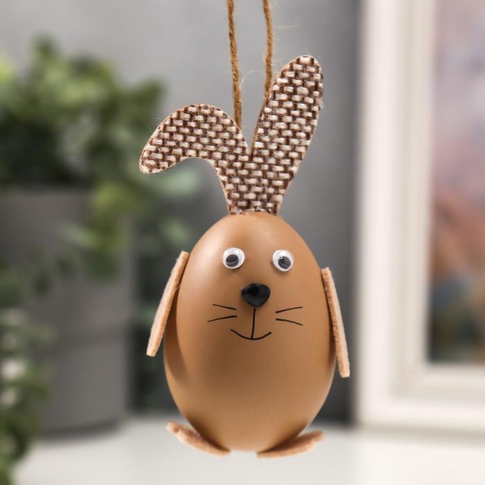 Сувенир пасхальный Яйцо - кролик 10,5х4х4 см