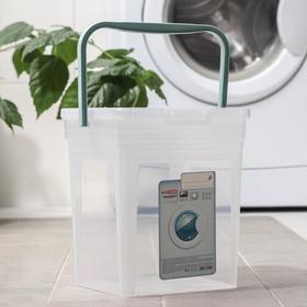 Контейнер для стирального порошка 8 л, цвет МИКС Ош