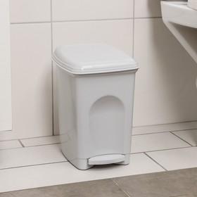 Контейнер для мусора Бытпласт «Педальный», 7 л, цвет МИКС