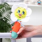 Погремушка на палочке «Ромашка», цвет МИКС