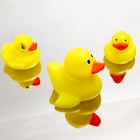 Набор игрушек для ванны «Семейка уточек», 3 шт.