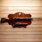 Сувенирное оружие на планшете «Ружьё и мушкет», с эмблемой Конь, 100*40см