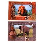 Альбом для рисования А4, 24 листа на скрепке «Африка», обложка картон 190-215 г/м2, блок офсет 100 г/м2, МИКС