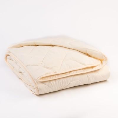 Одеяло Миродель всесезонное Овечья шерсть, 145*205 ± 5 см, микрофибра, 200 г/м2 - Фото 1