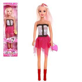 Кукла ростовая 'Модница' с аксессуарами,высота 46 см, МИКС Ош