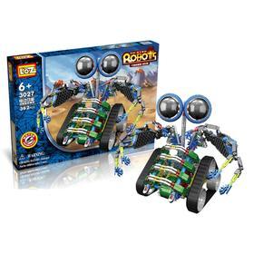 Конструктор-робот «Турбо», работает от батареек, 362 детали