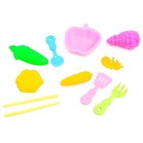 Набор посуды с продуктами, 9 предметов, МИКС Ош