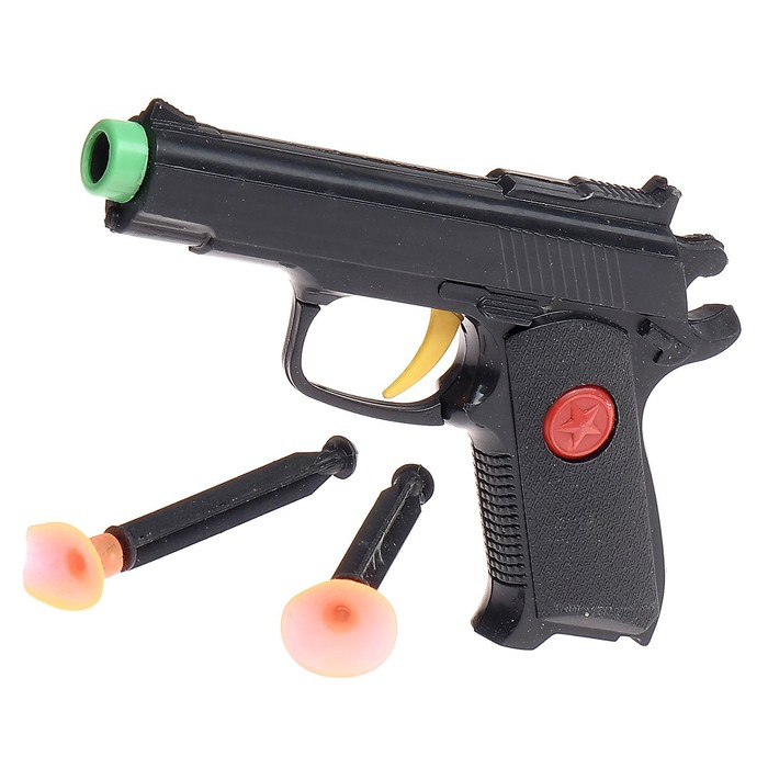 "Пистолет ""Крутые пушки"", стреляет присосками"
