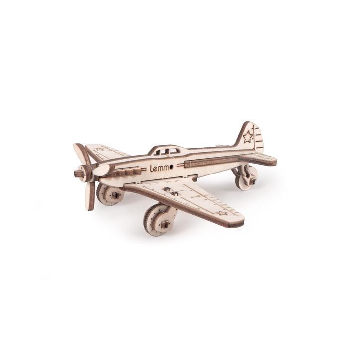 Детский деревянный конструктор «Самолёт ЯК-9»