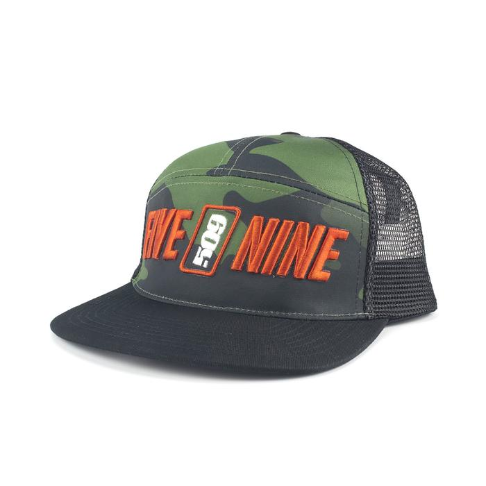 Бейсболка 509, 509-HAT-ROS, цвет Черный, размер OS