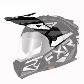 Козырек FXR Maverick Modular Team, 201744-1001-00, цвет Черный/Белый Ош