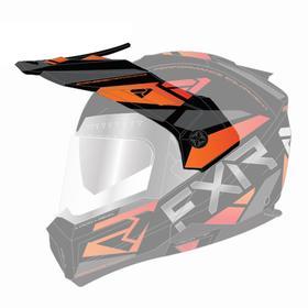 Козырек FXR Maverick Modular Team, 201744-1030-00, цвет Черный/Оранжевый Ош