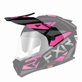 Козырек FXR Maverick Modular Team, 201744-1090-00, цвет Черный/Фиолетовый Ош