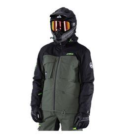 Куртка Jethwear One Mile с утеплителем, J2013-028-L, , цвет Черный/Зеленый, размер L Ош