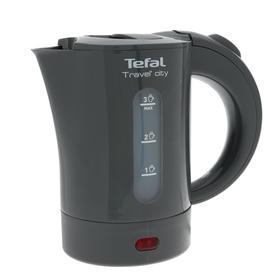Чайник электрический Tefal KO120B30, пластик, 0.5л, 650Вт, серый